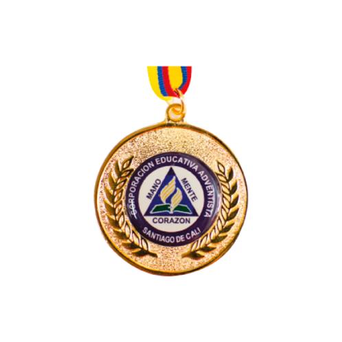 M19. Medalla con baño de oro