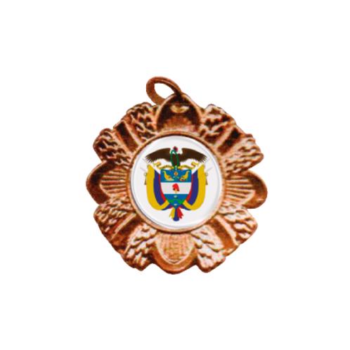M12. Medalla estándar