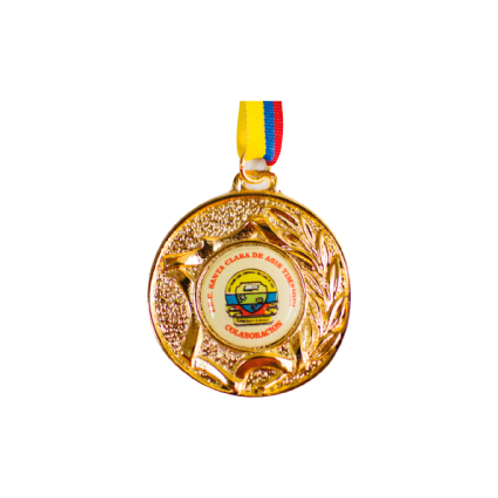 M24. Medalla con baño de oro