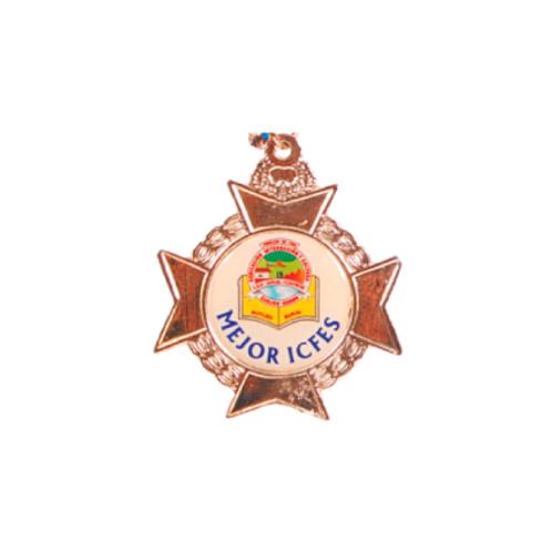 M10. Medalla estándar