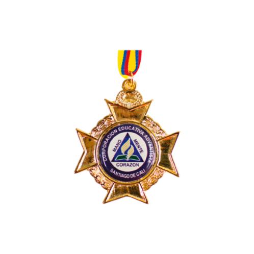 M29. Medalla con baño de oro