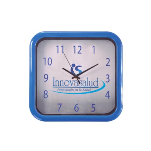 369. Reloj pantalla cuadrado 28 x 29 cms