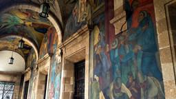 Mercado Abelardo Rodríguez, Rivera and other Murals