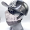 Thumbnail: Designer Mask Texas Flag Black and White Bandana Wrap