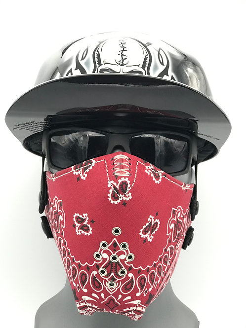 Pro Mask Red Bandanna