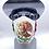 Thumbnail: Designer Mask Mexican Flag Bandana Wrap
