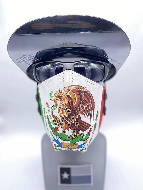 Designer Mask Mexican Flag Bandana Wrap