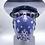 Thumbnail: Designer Mask Navy Blue Bandana Wrap