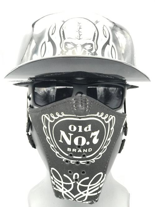 Designer Jack Daniel's Inspired Wrapped Mask