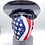 Thumbnail: Designer Mask American Flag Bandana Wrap