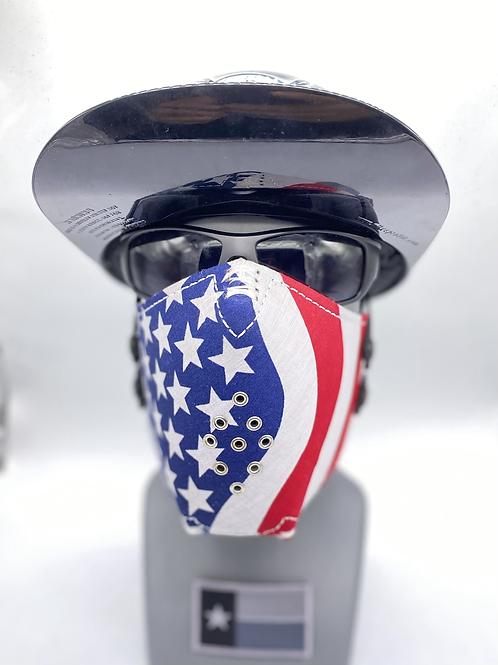 Designer Mask American Flag Bandana Wrap