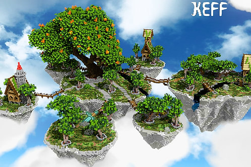 Floating Islands Lobby - SOLD