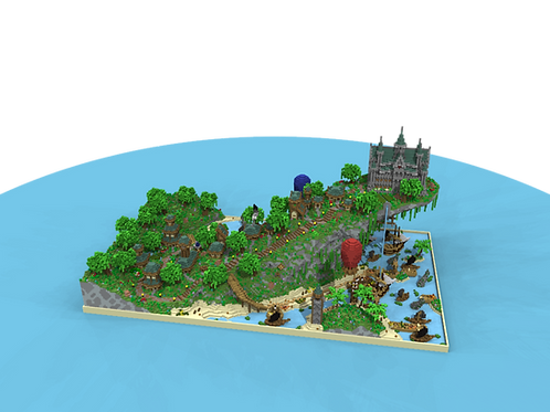 Village upon a hill - AVAILABLE