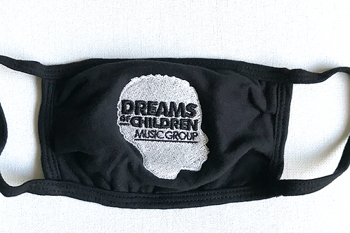 EMBROIDERED LOGO  FACE MASK