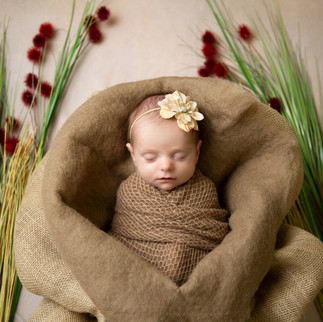 Sweet Emersyn.  First newborn of the year for me. #newbornphotography