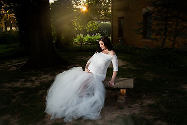 Oklahoma City Family Photographer Maternity Portrait