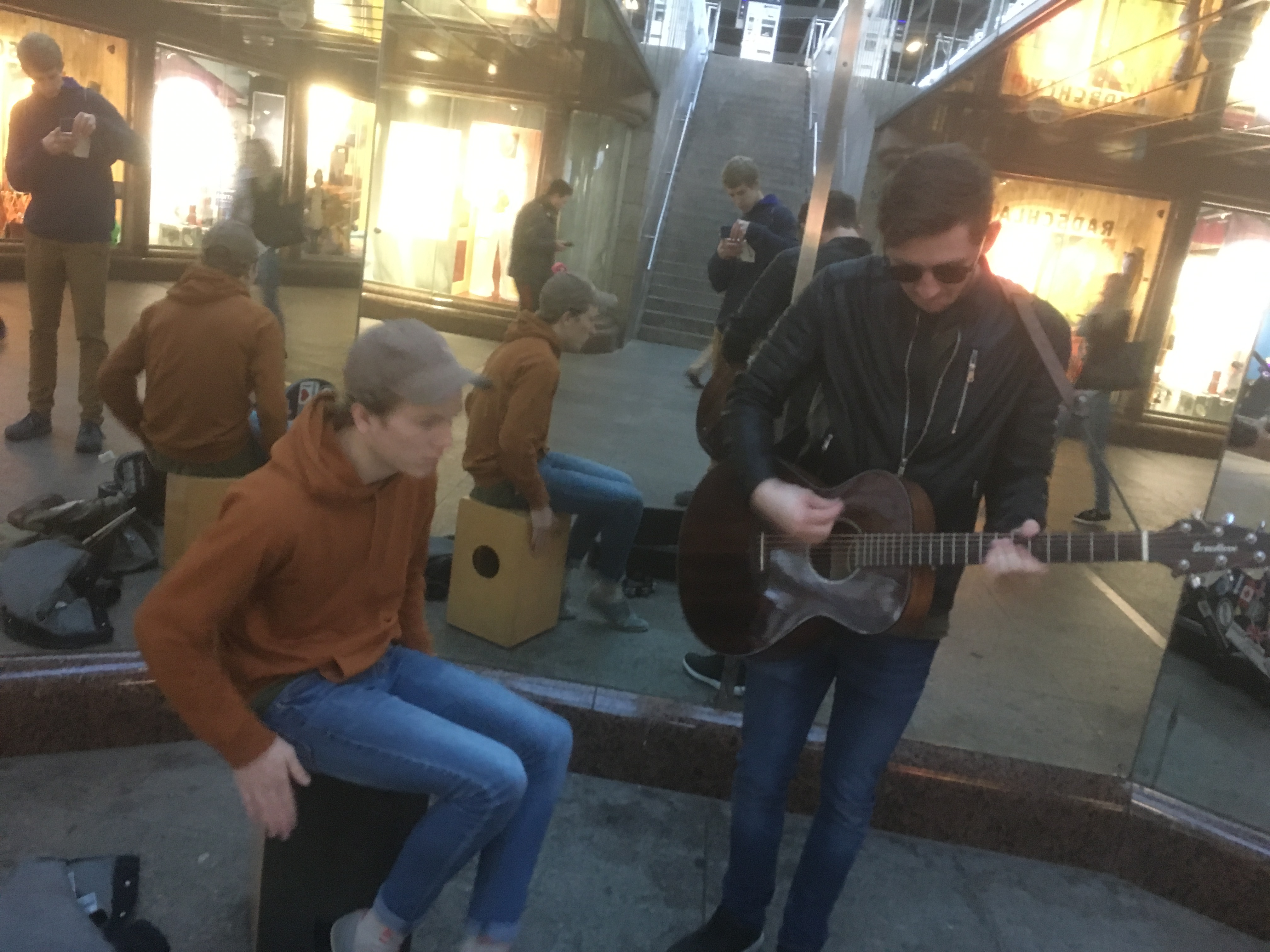Busking in Germany
