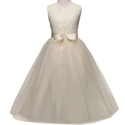 Maslové dievčenské šaty
