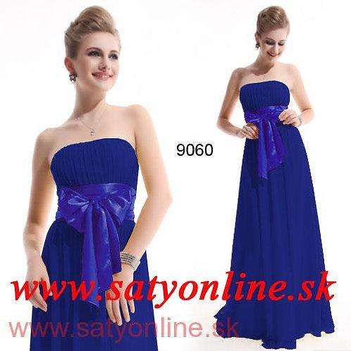 Modré spoločenské šaty 9060 SKLADOM