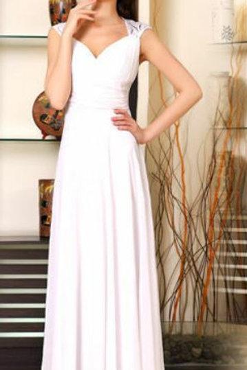 Biele svadobné- spoločenské šaty 9672 SKLADOM