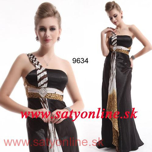 Vzorované šaty 9634 SKLADOM
