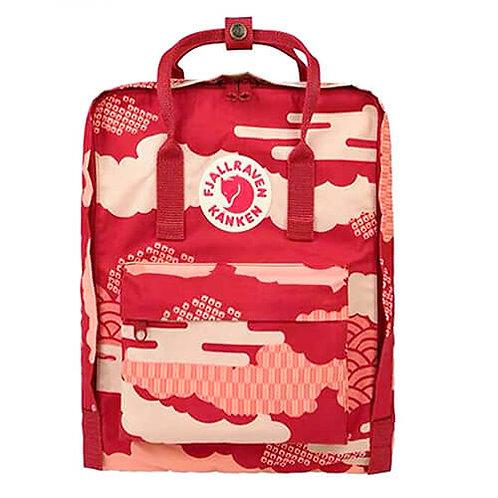 Fjällräven MINI Červeno Biely Cargo detský batoh