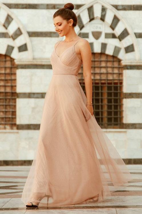 Spoločenské šaty BLUSH 7369 SKLADOM