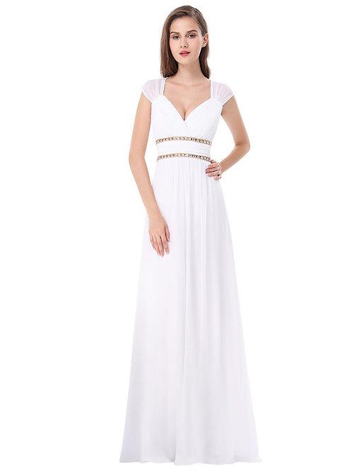 Biele svadobné šaty 8697