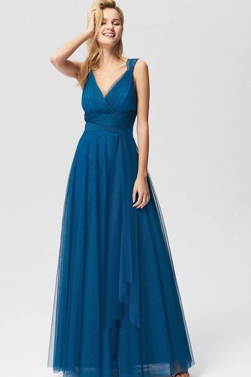 Spoločenské šaty TEAL 7303