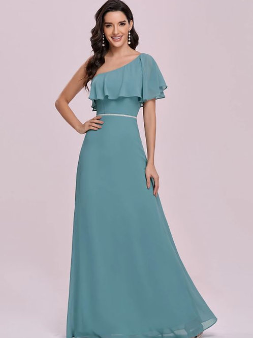 Dusty Blue spoločenské šaty 0124
