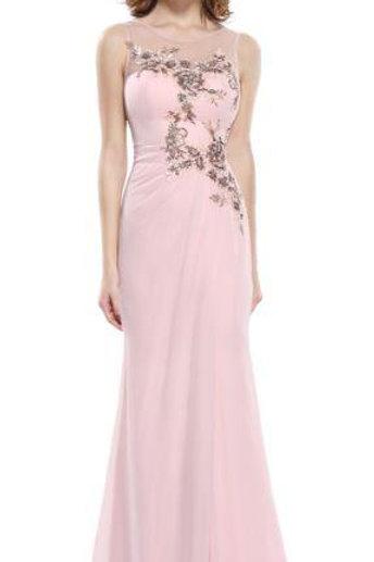 Ružove šaty 8850 SKLADOM