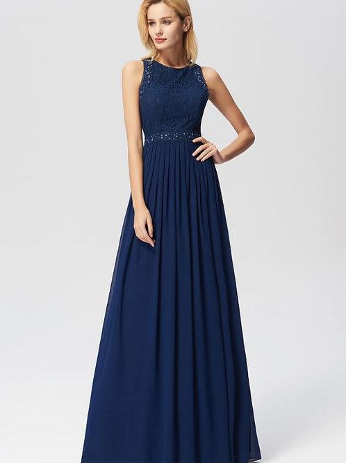 Tmavo modré šaty 7391
