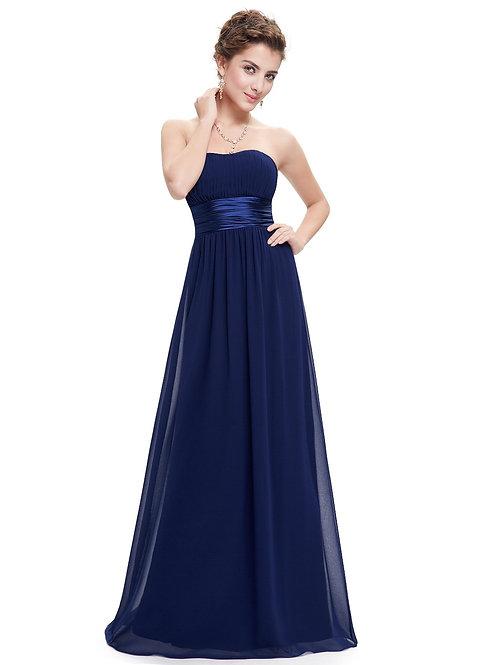 Spoločenské šaty NAVY 9955 SKLADOM