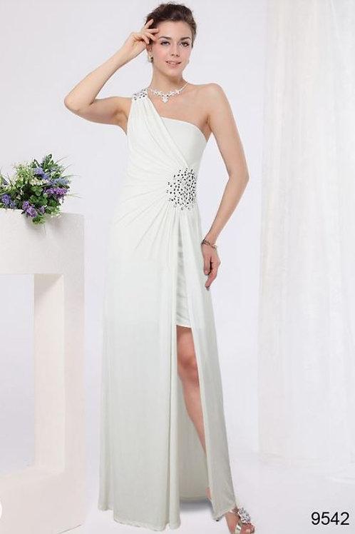 Biele šaty 9542 SKLADOM