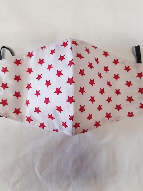 Trojvrstvové Textilné Ochranné Rúško WH002