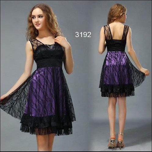 Krajkové krátke šaty 3192 SKLADOM