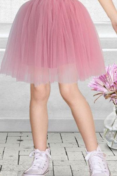 Ružová TUTU suknička