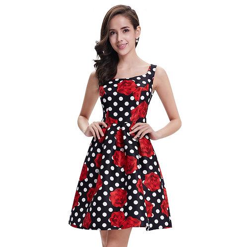 Kvetované šaty 5381 SKLADOM