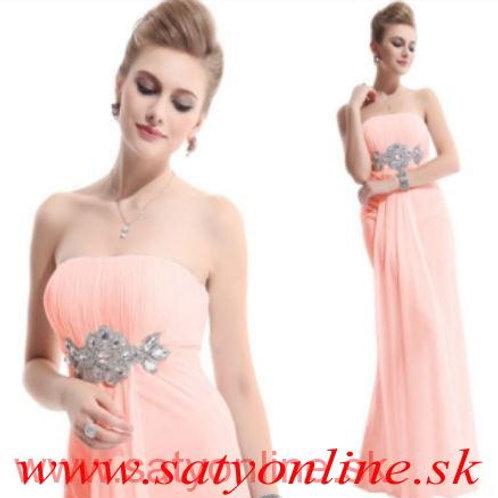 Ružové šaty 9652 SKLADOM