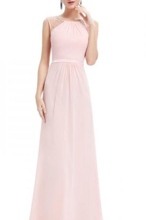 Ružové spoločenské šaty 8742 SKLADOM
