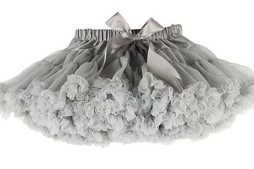 Strieborna DOLLY sukňa XL