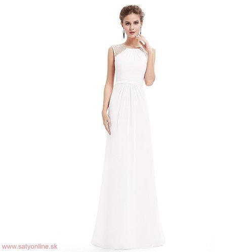 Biele šaty 8742 SKLADOM