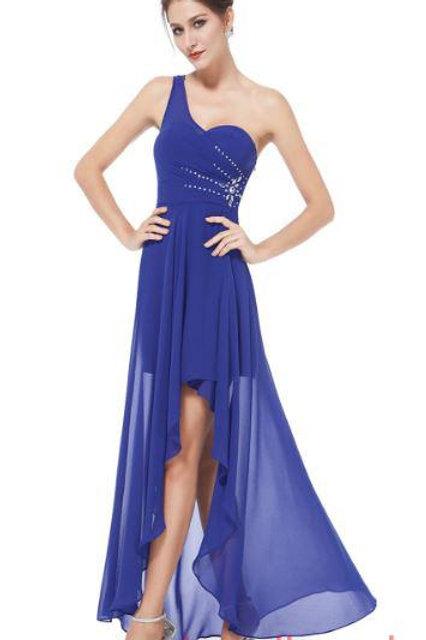 Modré šaty8100 SKLADOM