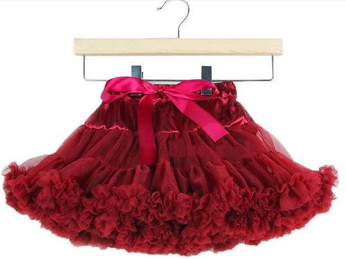 Bordová DOLLY sukňa XL SKLADOM