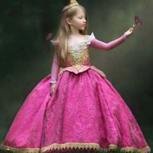 Karnevalový Kostým Sleeping Beauty Princezna Aurora LUX
