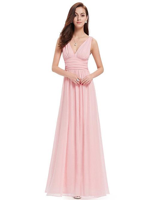 Ružové spoločenské šaty 9016 SKLADOM