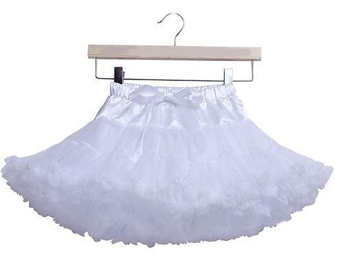 Biela DOLLY sukňa