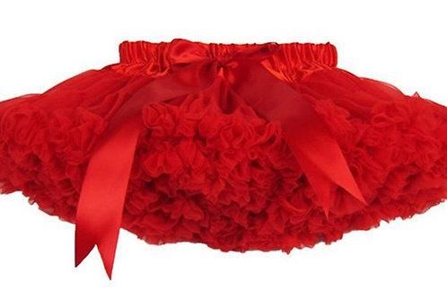 Červená Dolly sukňa SKLADOM