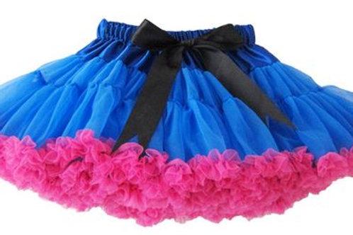 Blue - Hot Pink DOLLY pettiskirt