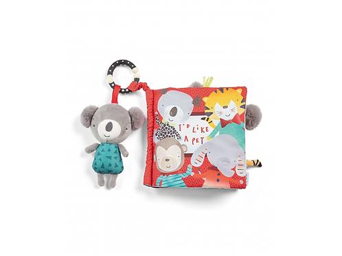 Mamas & Papas Textílna knižka s aktivitami koala Koko